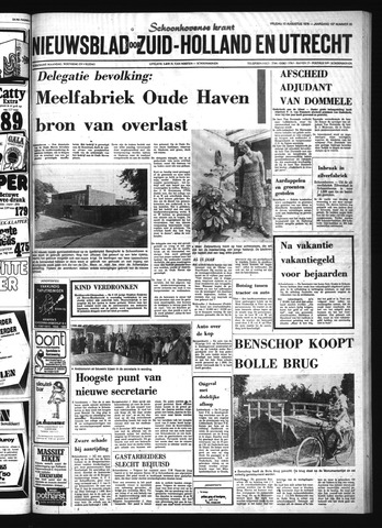 Schoonhovensche Courant 1976-08-13