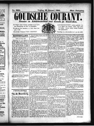 Goudsche Courant 1894-01-26