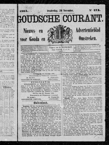 Goudsche Courant 1863-11-26