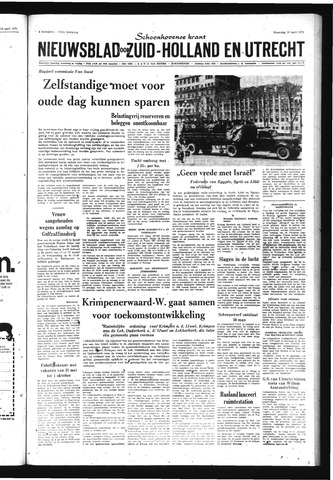 Schoonhovensche Courant 1971-04-19