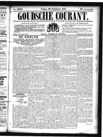 Goudsche Courant 1918-09-20