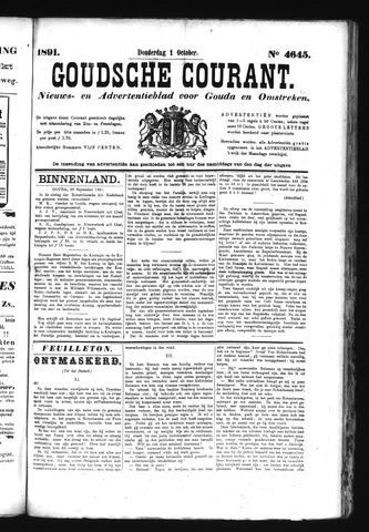 Goudsche Courant 1891-10-01