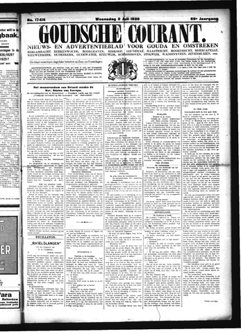 Goudsche Courant 1930-07-02