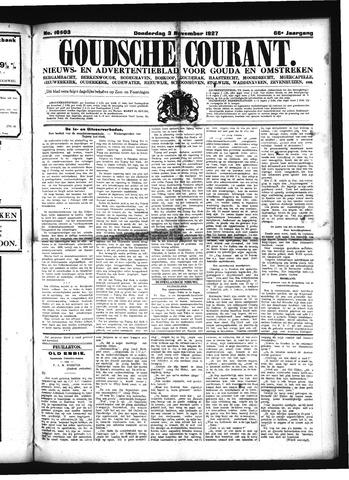 Goudsche Courant 1927-11-03