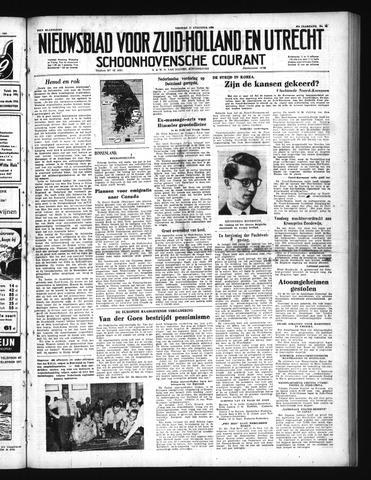 Schoonhovensche Courant 1950-08-11