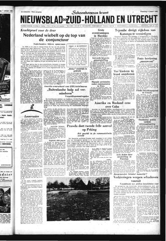 Schoonhovensche Courant 1963-01-09