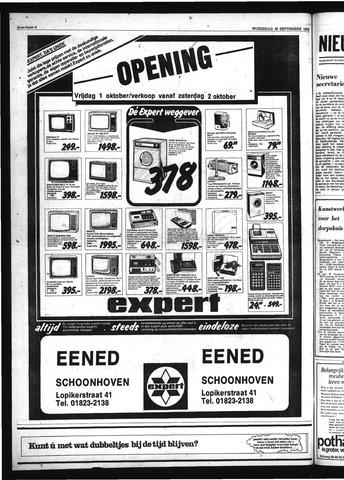 Schoonhovensche Courant 1976-09-29