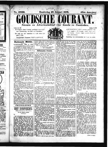 Goudsche Courant 1909-01-28
