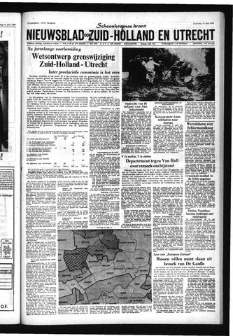 Schoonhovensche Courant 1966-06-20