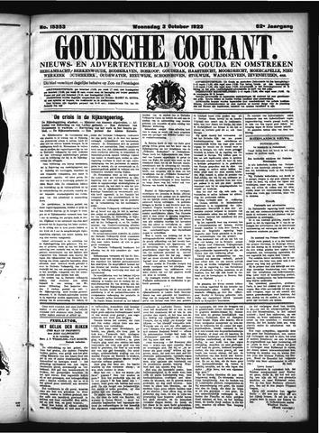 Goudsche Courant 1923-10-03