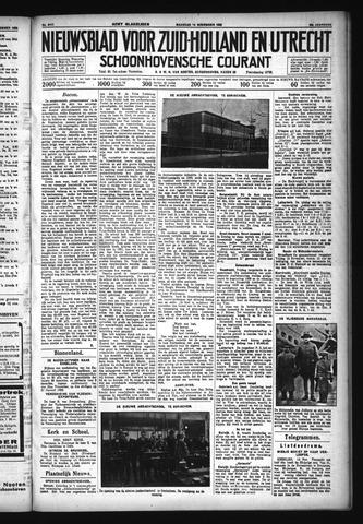 Schoonhovensche Courant 1932-11-14