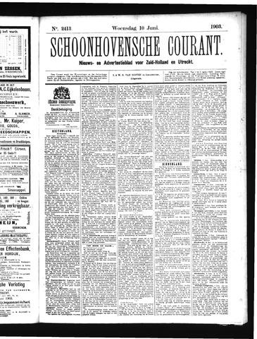 Schoonhovensche Courant 1903-06-10