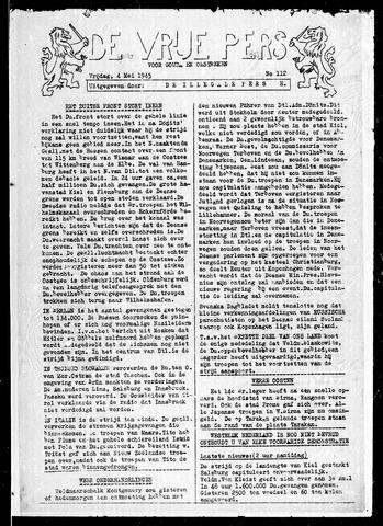 De Vrije Pers 1945-05-04