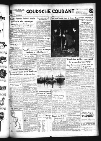 Goudsche Courant 1954-11-20