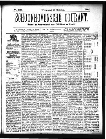 Schoonhovensche Courant 1904-10-26