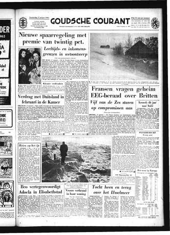 Goudsche Courant 1963-01-17