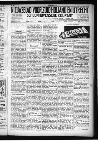 Schoonhovensche Courant 1931-07-06