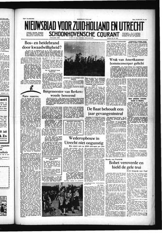 Schoonhovensche Courant 1955-07-27