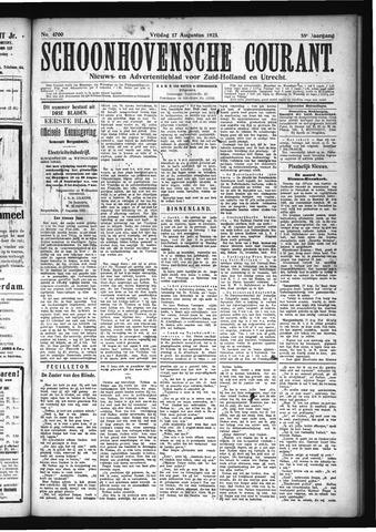 Schoonhovensche Courant 1923-08-17