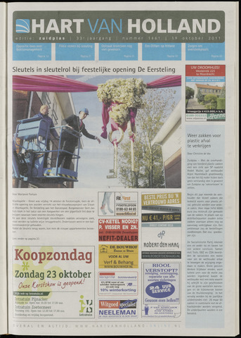Hart van Holland - Editie Zuidplas 2011-10-19