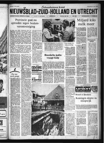 Schoonhovensche Courant 1972-05-31