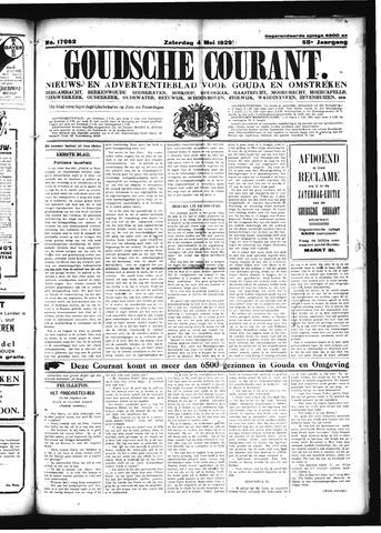 Goudsche Courant 1929-05-04