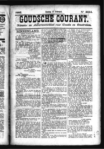 Goudsche Courant 1887-02-27