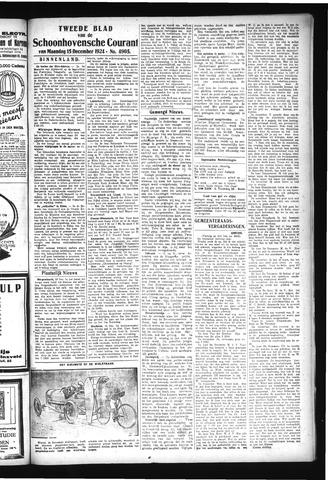 Schoonhovensche Courant 1924-12-15