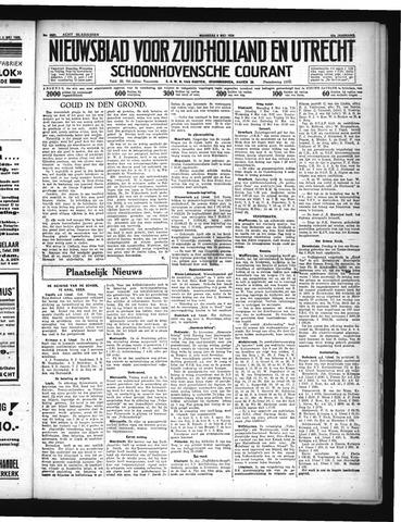 Schoonhovensche Courant 1935-05-06
