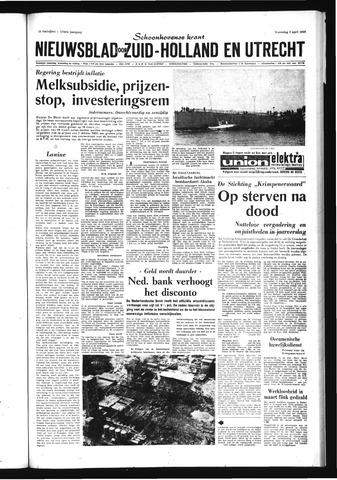 Schoonhovensche Courant 1969-04-09
