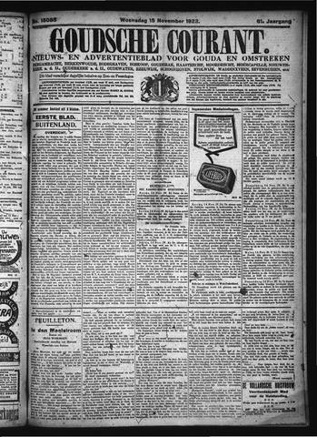 Goudsche Courant 1922-11-15