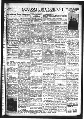 Goudsche Courant 1944-03-24