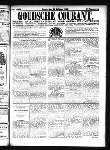 Goudsche Courant 1928-10-25