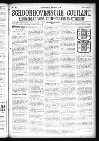 Schoonhovensche Courant 1926-08-04