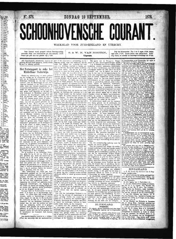 Schoonhovensche Courant 1876-09-10