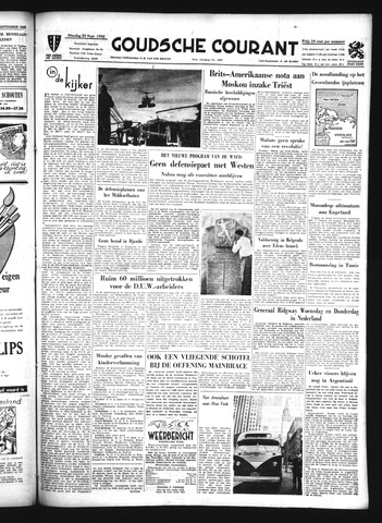 Goudsche Courant 1952-09-23