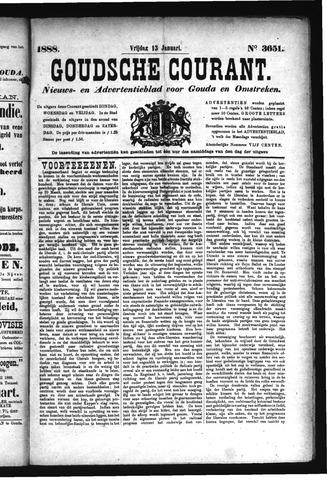 Goudsche Courant 1888-01-13
