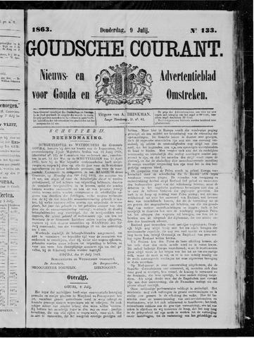Goudsche Courant 1863-07-09