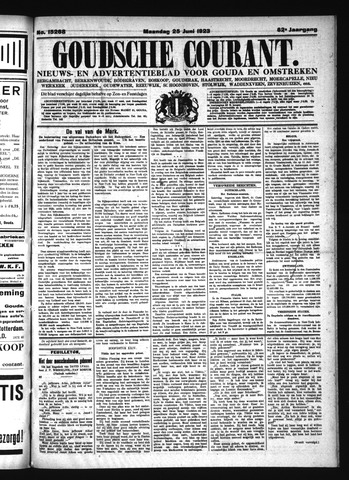 Goudsche Courant 1923-06-25
