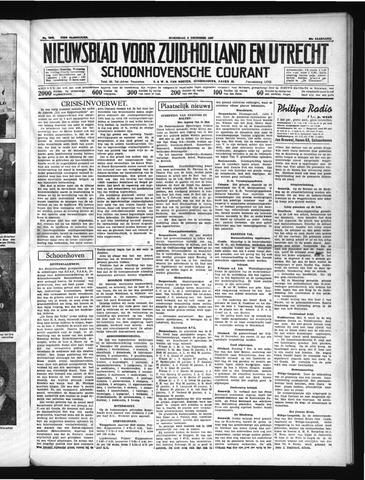 Schoonhovensche Courant 1937-12-08