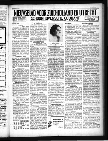 Schoonhovensche Courant 1947-04-30