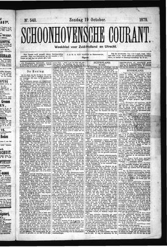 Schoonhovensche Courant 1879-10-19