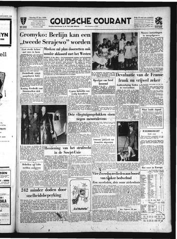 Goudsche Courant 1958-12-27