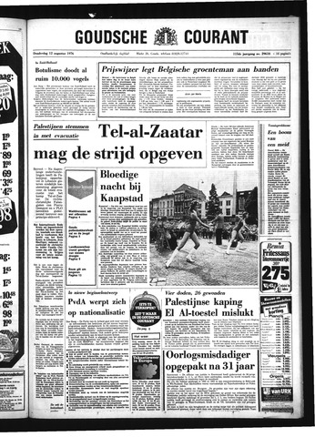 Goudsche Courant 1976-08-12
