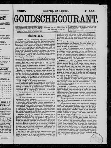 Goudsche Courant 1867-08-22