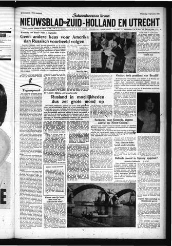 Schoonhovensche Courant 1961-09-06