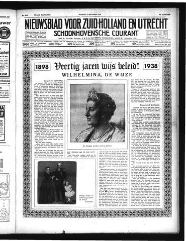 Schoonhovensche Courant 1938-09-05