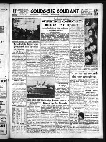 Goudsche Courant 1960-02-22