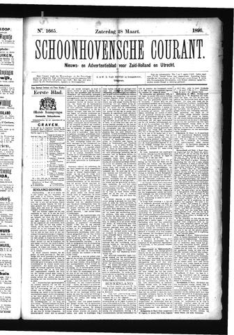 Schoonhovensche Courant 1896-03-28