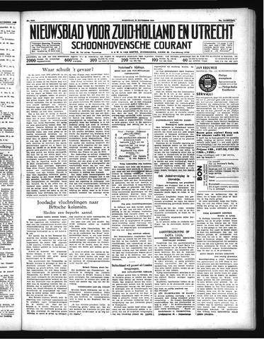 Schoonhovensche Courant 1938-11-23